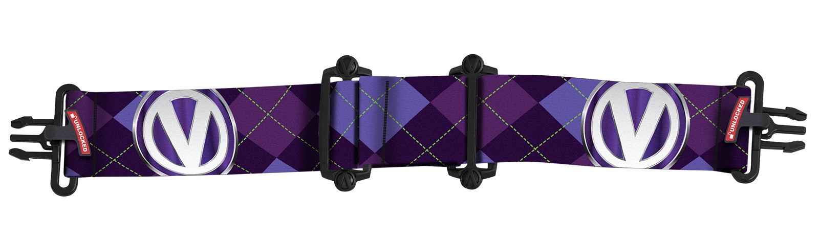 Virtue VIO Gumka Argyle Purple