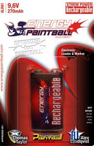 Energy Paintball Akku 9.6V 270mah