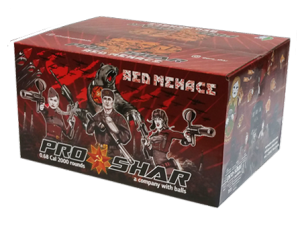 Kulki ProShar Red Menace 2000szt.